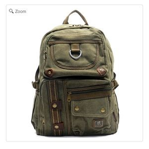 Handbags - ❤️💐HOST PICK-NEW Military Canvas Backpack Green